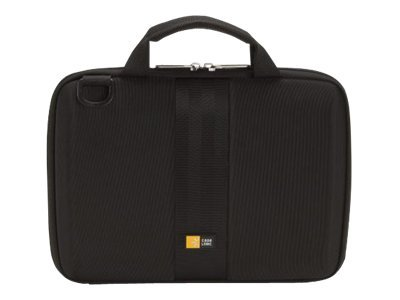 Case Logic iPad and 9-10 Tablet Attache, Black, QTA-110BLACK, 13745343, Carrying Cases - Tablets & eReaders