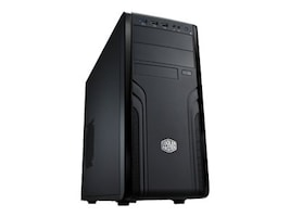 Cooler Master Chassis, CM Force 500 MT Micro-ATX ATX 8x3.5 Bays 2x5.25 Bays 7xExpansion Slots 500W PSU, Black, FOR-500-KKR500, 15754913, Cases - Systems/Servers