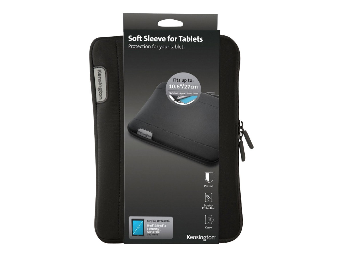 Kensington Neoprene Sleeve for 10 Tablet, K62576WW