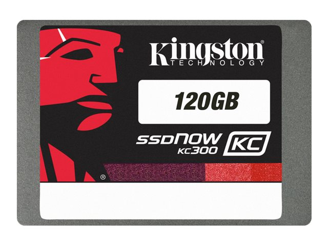 Kingston 120GB SSDNow KC300 SATA 6Gb s 2.5 Internal Solid State Drive - TCG Opal Compliant