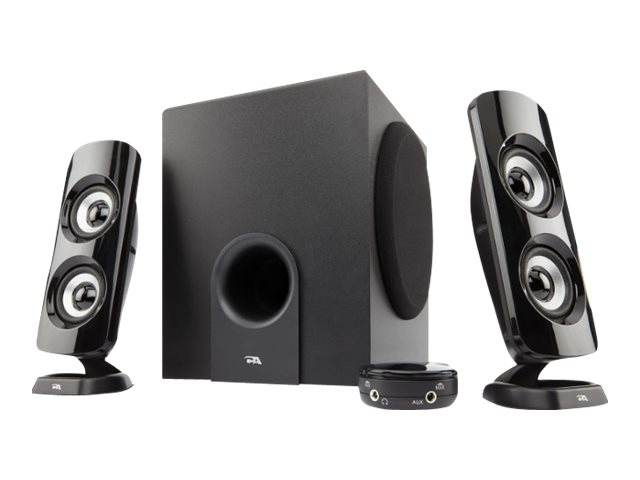 Cyber Acoustics 2.1 Speaker System, CA-3614, 30563998, Speakers - Audio