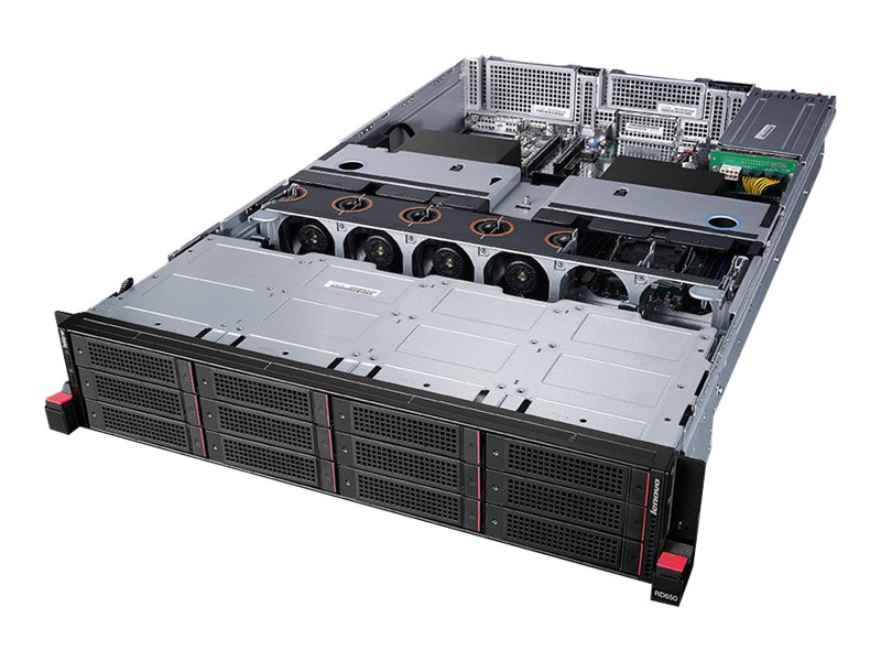 Lenovo TopSeller ThinkServer RD650 Intel 2.4GHz Xeon, 70D00025UX, 18114655, Servers