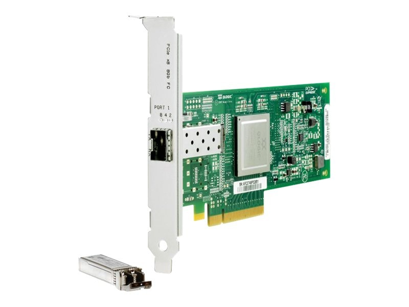 HPE Smart Buy 81Q 8GB PCIe Fibre Channel HBA, AK344SB, 16250223, Host Bus Adapters (HBAs)