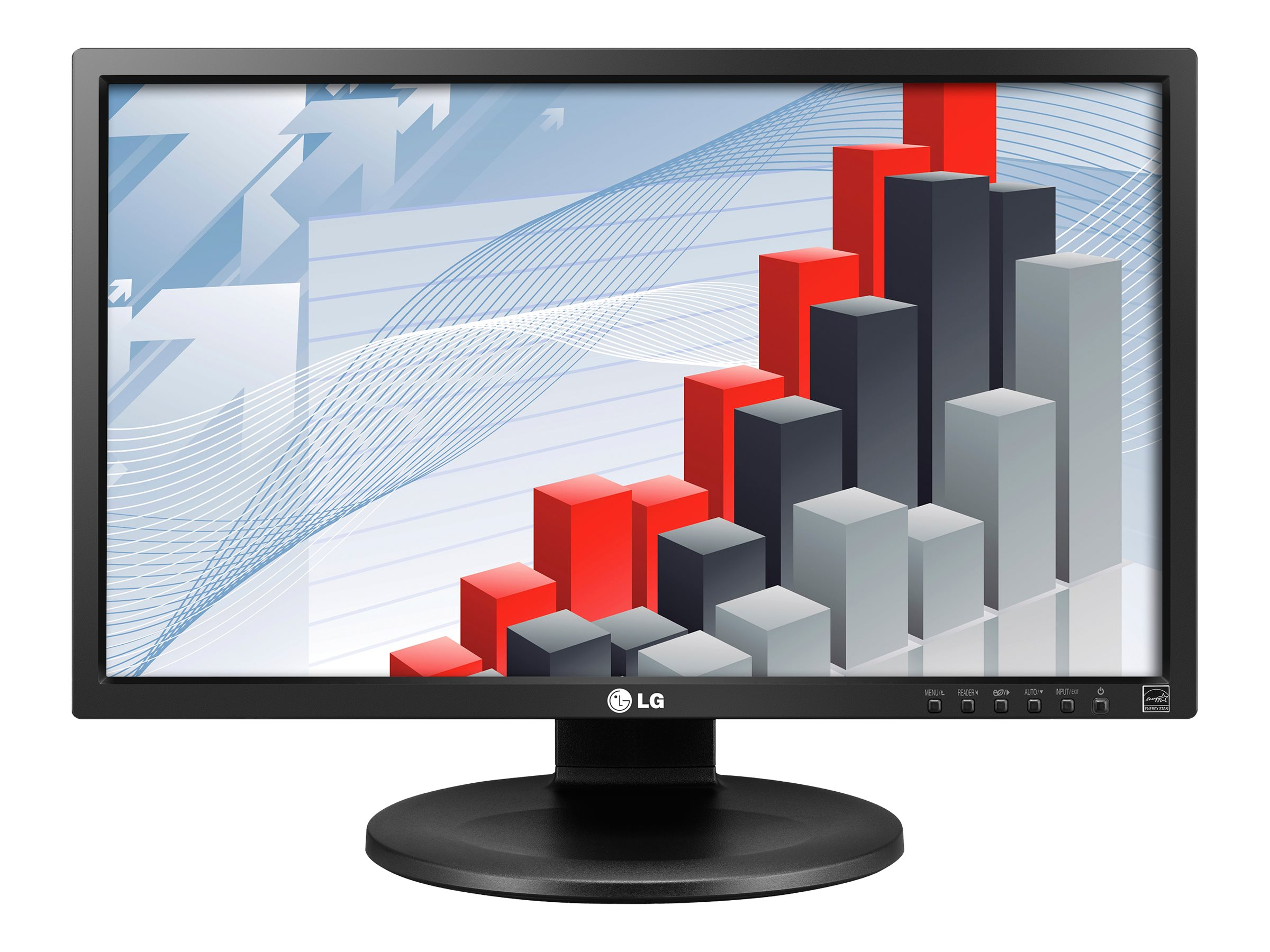 LG 24 MB35PY-B Full HD LED-LCD Monitor, Black, 24MB35PY-B, 16717807, Monitors - LED-LCD