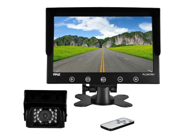 Pyle Weatherproof Rearview Backup Driving Camera & Video Monitor System 9, PLCMTR91