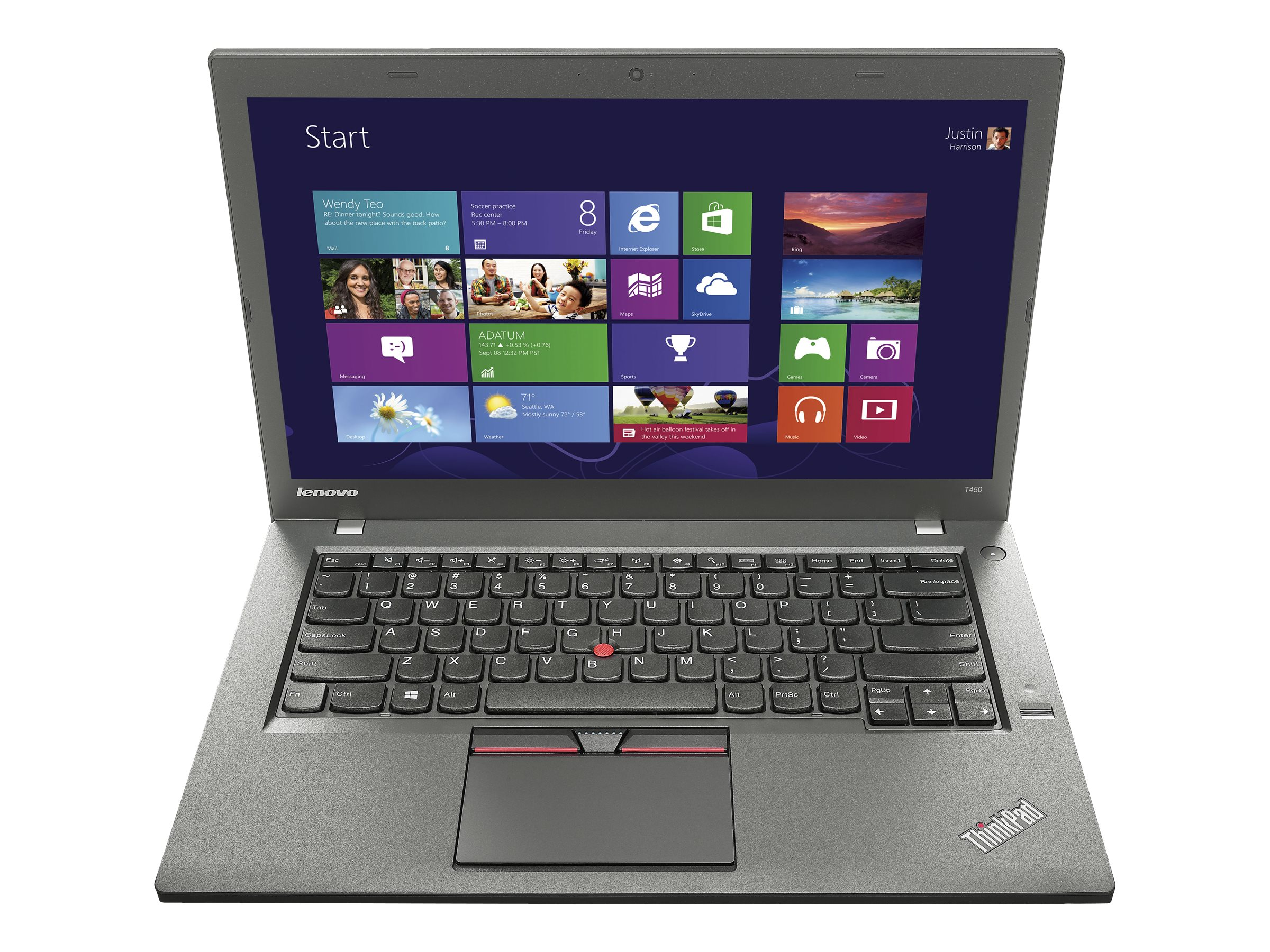 Lenovo ThinkPad T450 2.3GHz Core i5 14in display, 20BU0002US