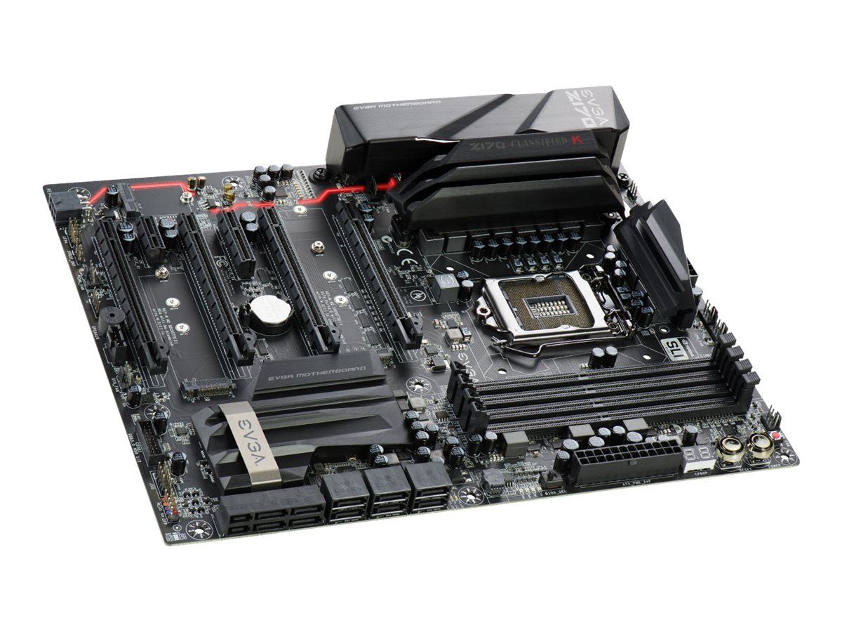 eVGA Motherboard, Z170 Classified K ATX Max.64GB GbE