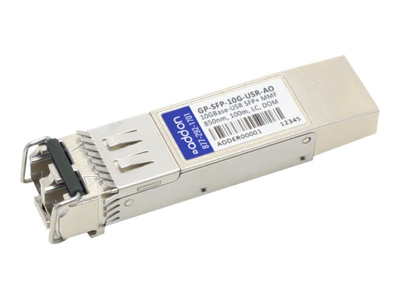 ACP-EP SFP+ 100M User LC XCVR Compatible TAA XCVR 10-GIG USER DOM LC Transceiver for Dell