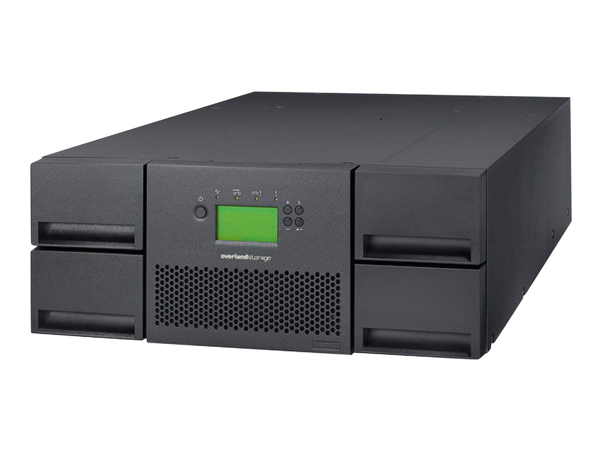 Overland NEO 400S 48-Slot LTO 6 FC Library (IBM Tape Drive), OV-NEO400S6FC, 14903649, Tape Automation
