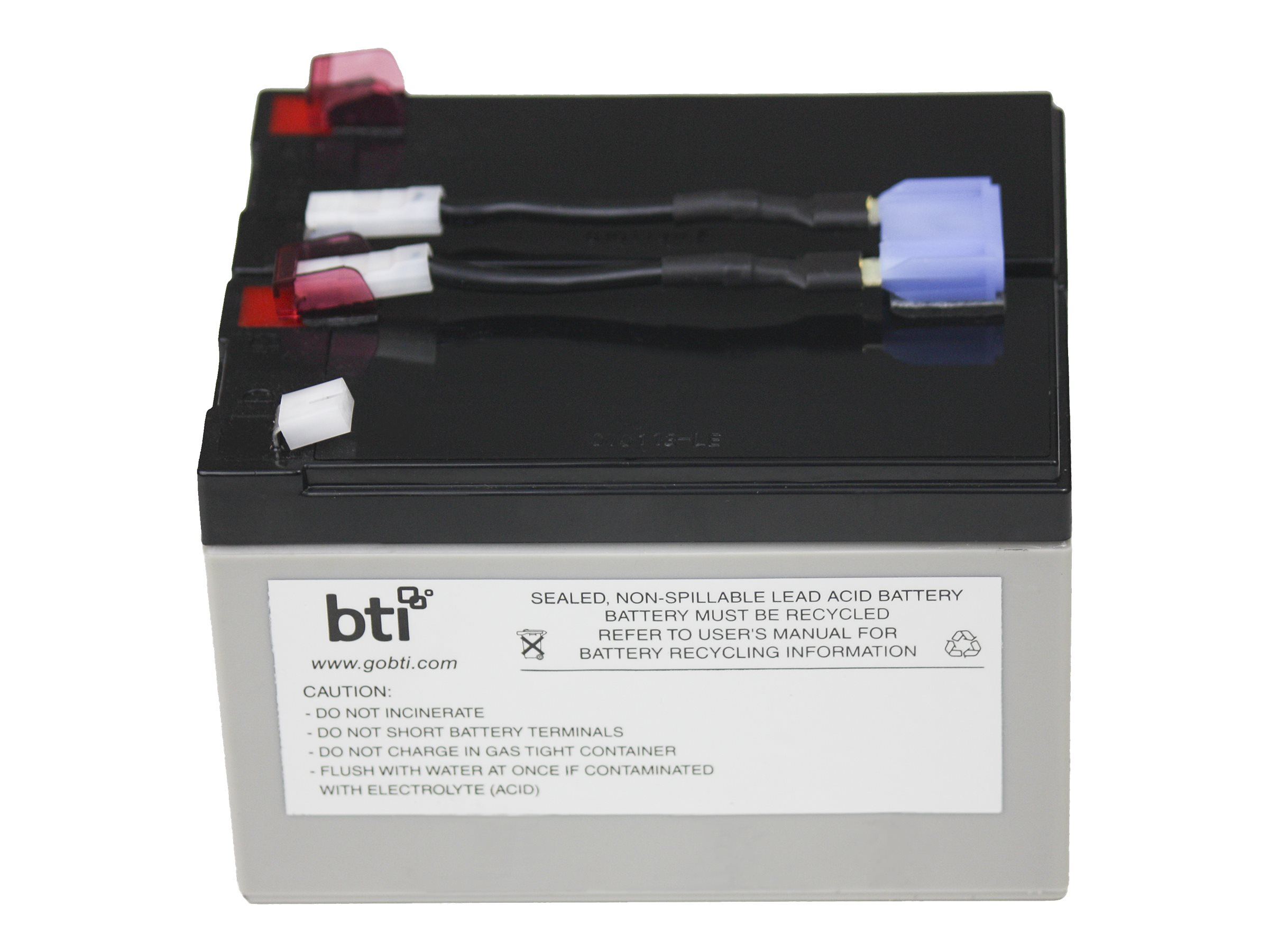 BTI Replacement UPS Battery for APC RBC9 SU700RM SU700RMNET
