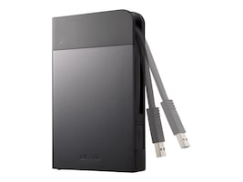 BUFFALO 1TB MiniStation Extreme NFC USB 3.0 Porrable Hard Drive, HD-PZN1.0U3B, 20273276, Hard Drives - External
