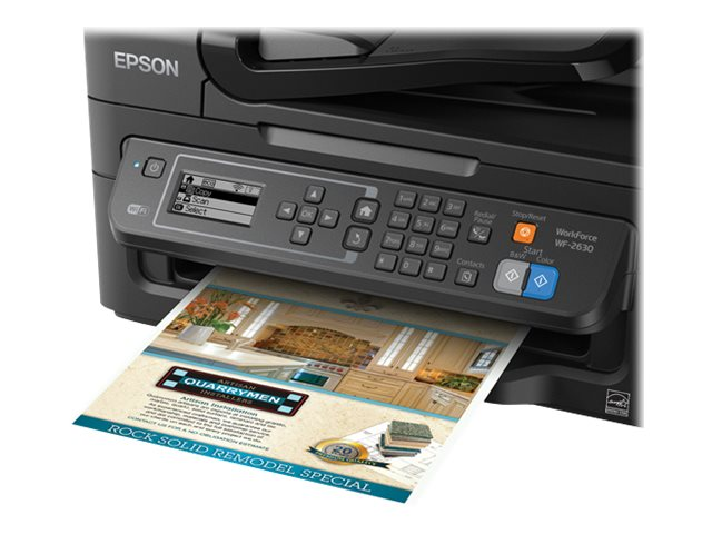 Epson WorkForce WF-2630 All-in-One Printer, C11CE36201
