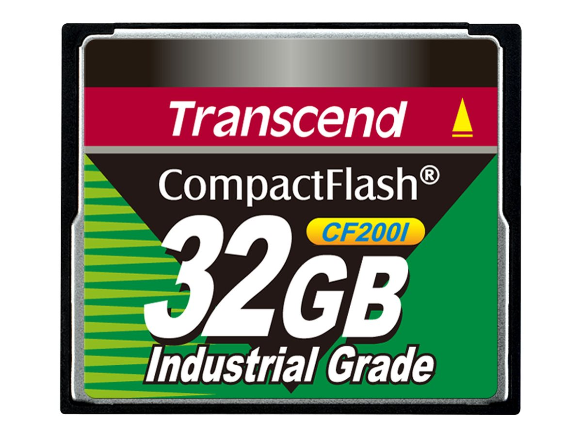 Transcend 32GB CompactFlash Card, TS32GCF200I, 13240695, Memory - Flash
