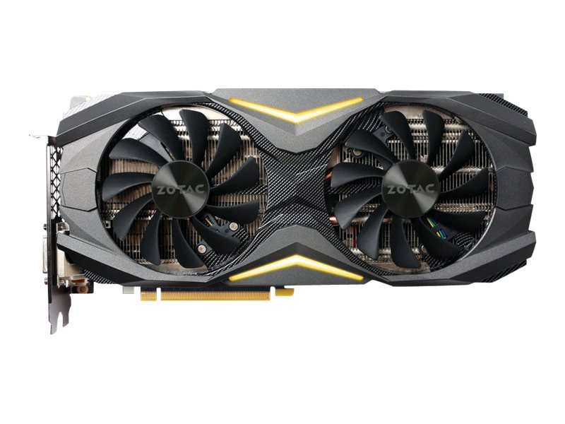 Zotac GeForce GTX 1080 AMP Edition Graphics Card, 8GB GDDR5, ZT-P10800C-10P