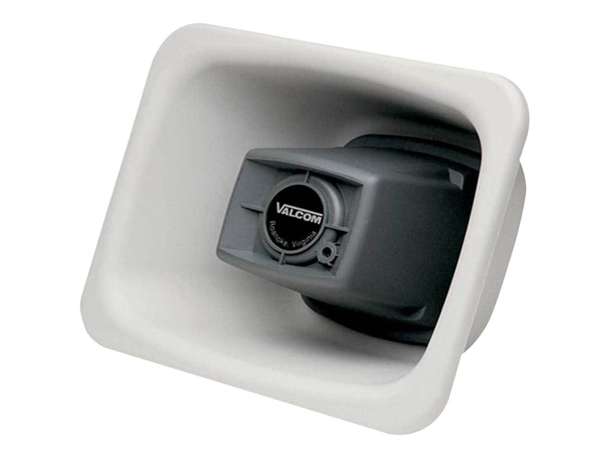 Valcom IP Flexhorn - White, VIP-480AL-W-IC, 25486895, Speakers - Audio