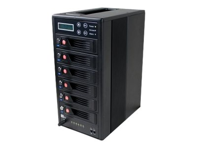 CRU RTX Secure 610-IR, 6-Bay iSCSI RAID AES 256 Encryption Enclosure, 35620-1630-0100, 13925096, SAN Servers & Arrays
