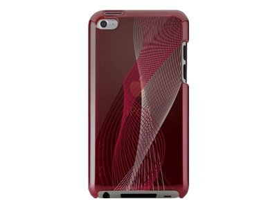 Belkin Emerge 021 Polycarbonate Case for iPod Touch 4G, Red Carpet, F8W016EBC02, 13625860, Carrying Cases - iPod