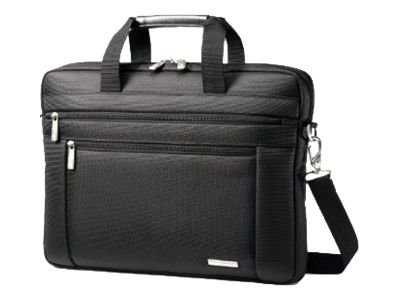 Stephen Gould Samsonite Classic Laptop Shuttle, Fits 15.6 Laptop, Black, 43271-1041, 14298055, Carrying Cases - Notebook