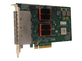 Atto Express SASX8 16-Channel SAS PCIe 2.0 to 6Gb SATA Half Height Controller, ESAS-H6F0-000, 9503499, Controller Cards & I/O Boards