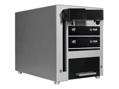 Vinpower The Cube 2-Drive 25-Disc Robotic BD CD DVD Duplicator, CUB25-S2T-BD