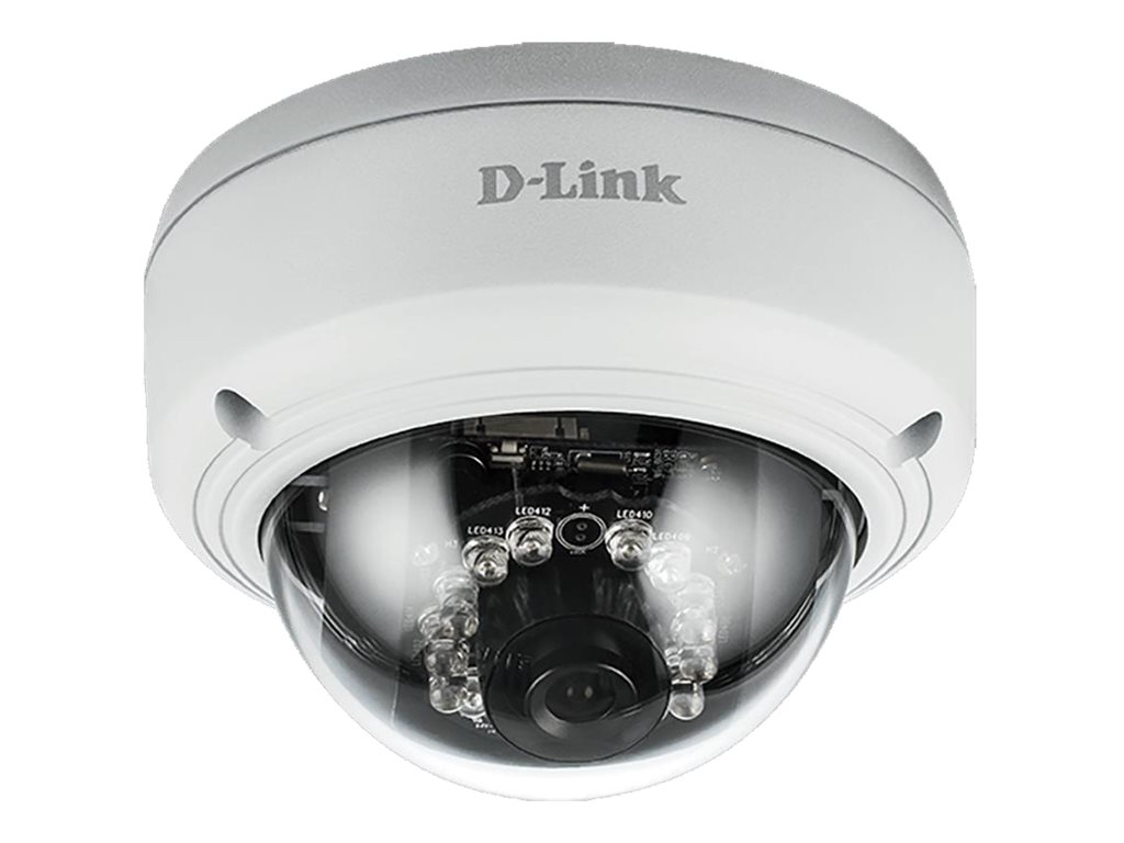 D-Link Full HD Outdoor Vandal Proof PoE Dome Camera, DCS-4602EV