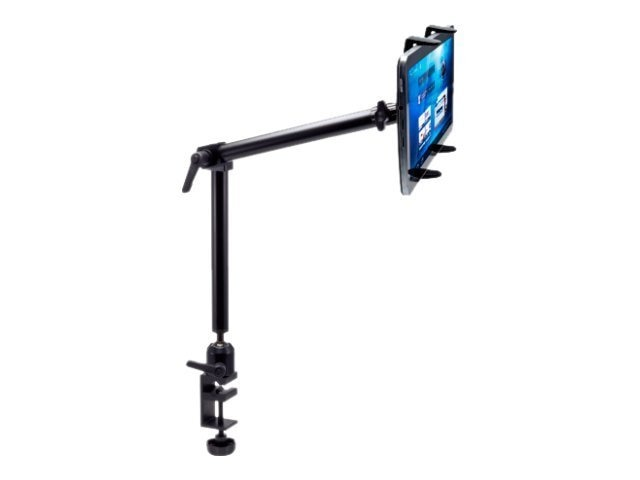 Arkon Heavy-Duty Desk or Wheelchair Tablet Clamp Mount with 22 Arm for iPad, Galaxy