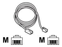Plantronics CT14 Cord, 81082-01, 14542599, Cables