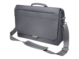 Kensington LM340 Messenger Bag for 14.4 Laptop ChromeBook, Gray, K62623WW, 18017370, Carrying Cases - Notebook
