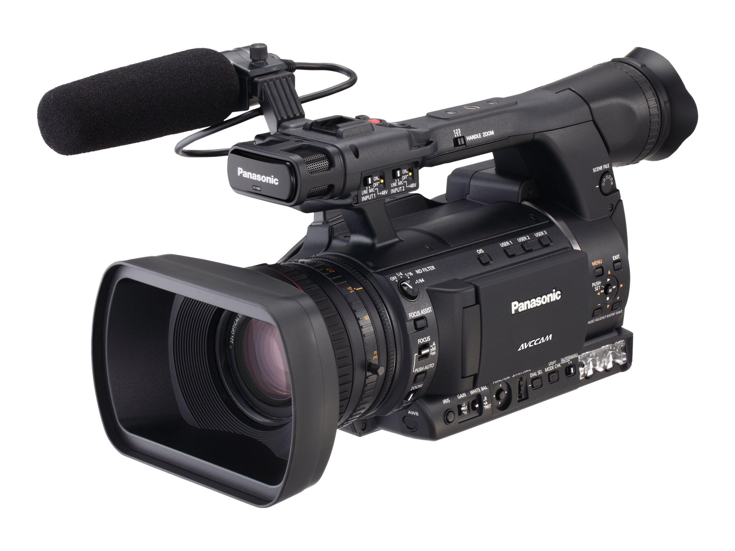 Panasonic AG-AC160 AVCCAM HD Handheld Camcorder