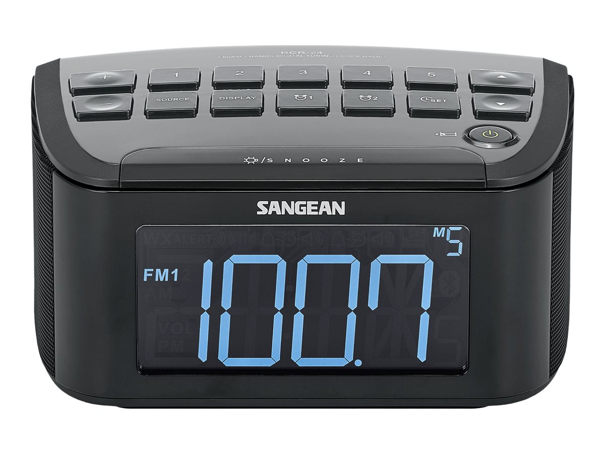 Sangean AM FM Digital Tuning Radio w  LCD, RCR-24