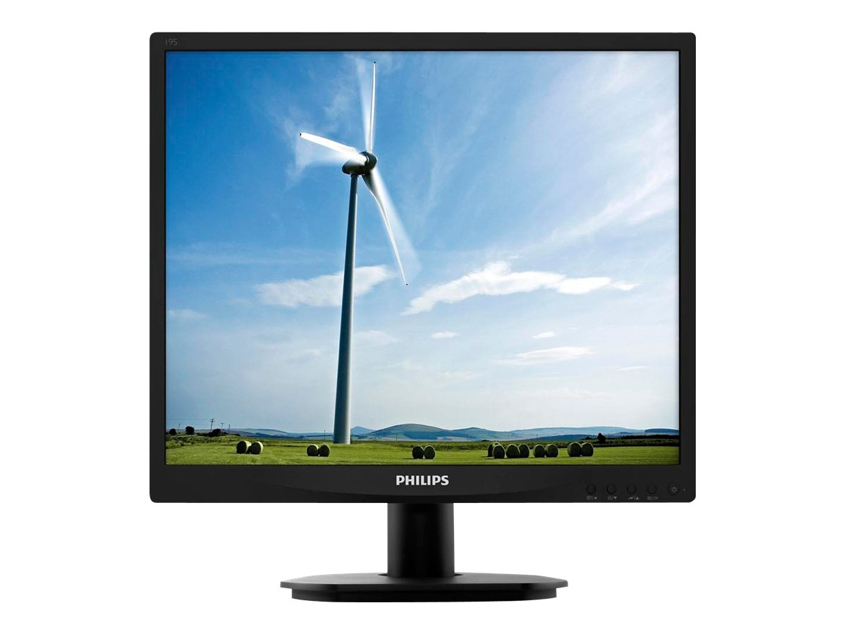 AOC 19 S4LSB5 LED-LCD Monitor, Black, 19S4LSB5, 16484476, Monitors - LED-LCD
