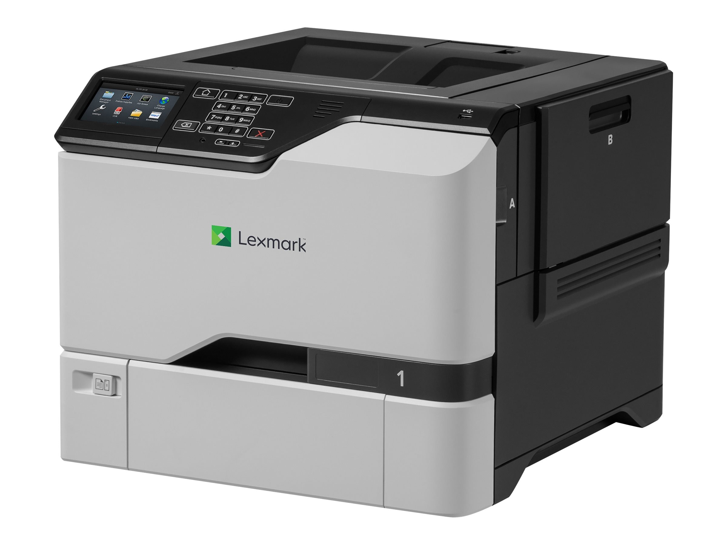 Lexmark CS725de Color Laser Printer w  CAC Enablement (TAA Compliant)