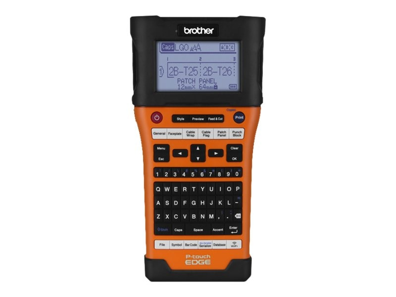 Brother P-touch EDGE PT-E550W Wireless Industrial Handheld Labeler