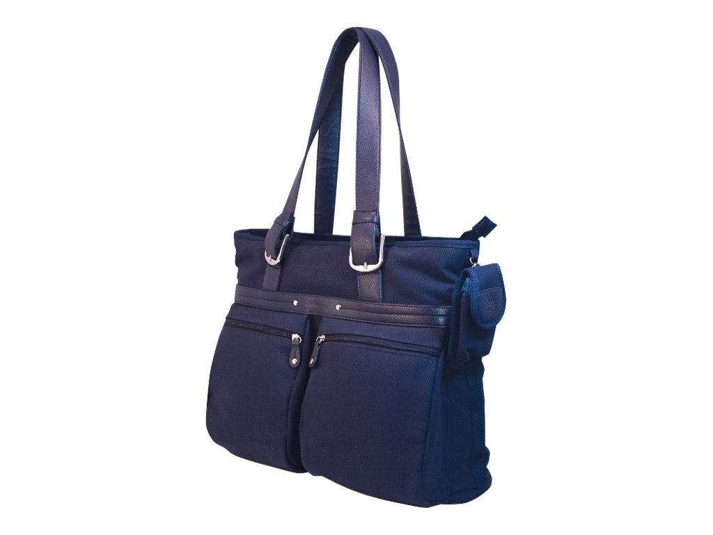 Mobile Edge Eco-Friendly Casual Tote, Navy, MECTE33, 9837923, Carrying Cases - Notebook