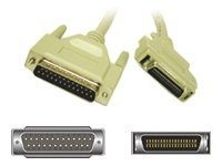 C2G IEEE-1284 DB25M to MC36M Parallel Printer Cable 6ft, 02302, 207529, Cables