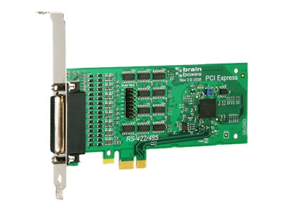 Brainboxes 4-Port RS422 485 PCI Express Serial Card