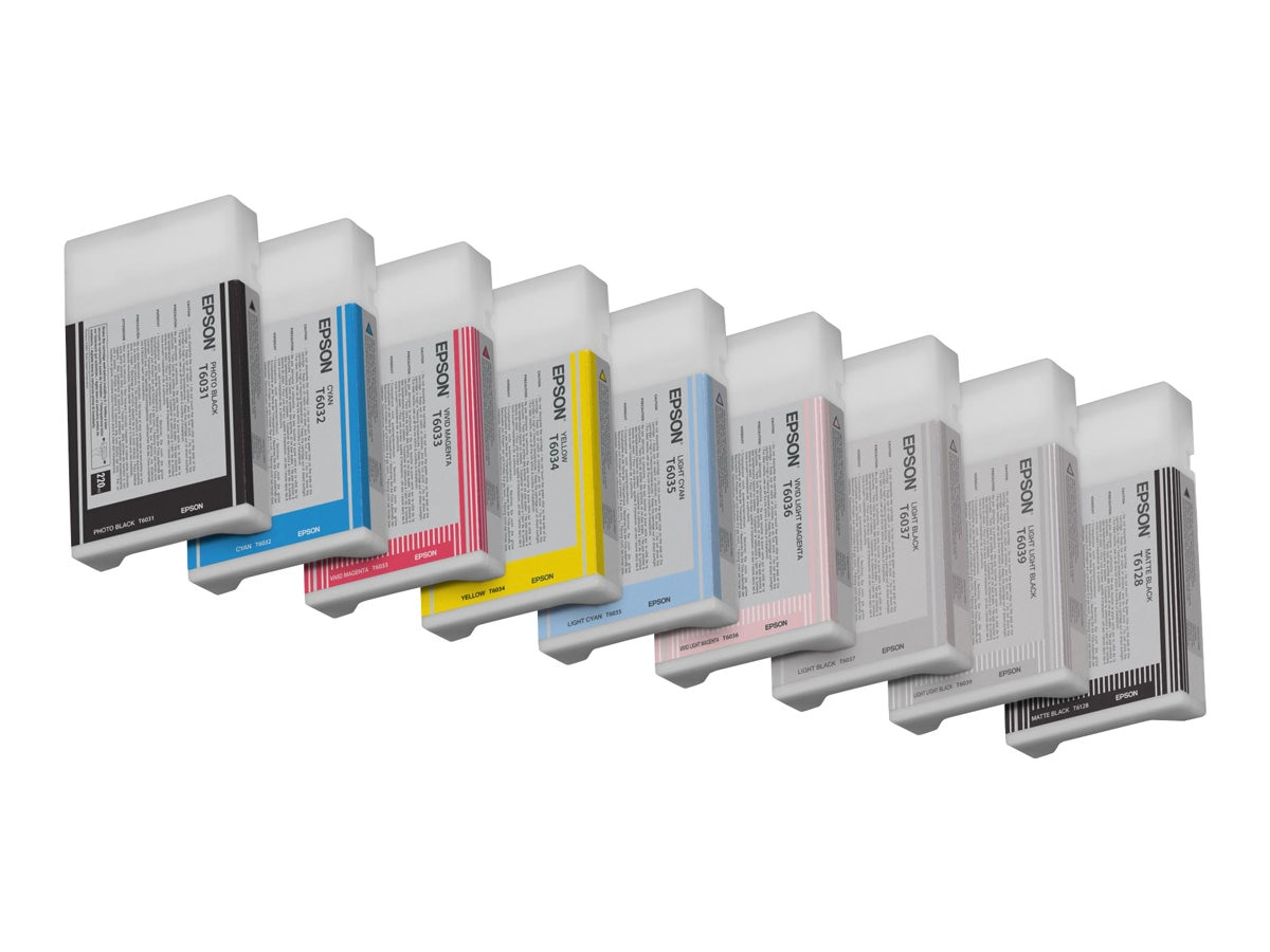 Epson Light Cyan Ink Cartridge 220ml for Stylus Pro 7800 Colorburst Printer, T603500