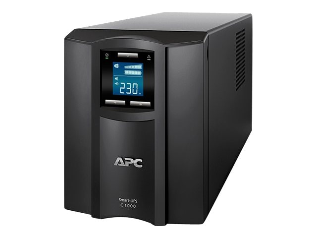 APC Smart-UPS C 1000VA 600W 230V Int'l LCD Tower UPS (8) C13 Outlets USB, SMC1000I, 16000005, Battery Backup/UPS