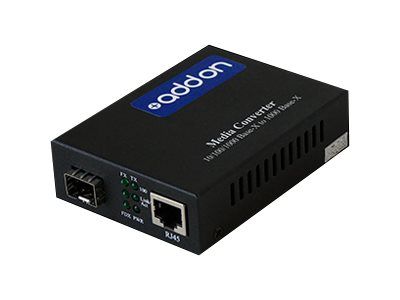 ACP-EP 1Gbps RJ-45 to SFP Media Converter, ADD-GMC-SFP