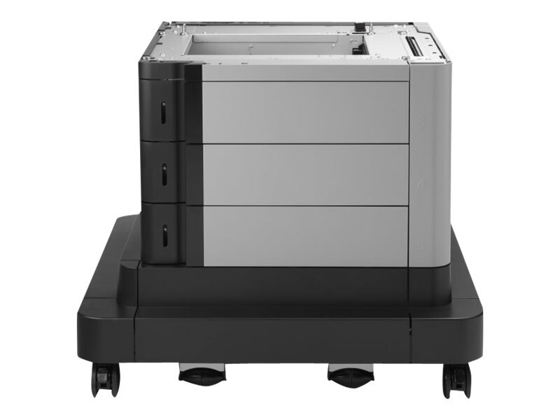 HP 2x500 1x1500-Sheet Paper Feeder & Stand for HP Color LaserJet Enterprise M680 & M651 Series, CZ263A, 16850270, Printers - Input Trays/Feeders