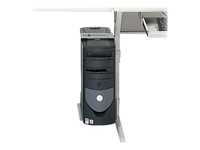 Bretford Manufacturing CPU Mount for Computer Work Center, Gray, 35CPUMTC-GM, 10928970, Stands & Mounts - AV