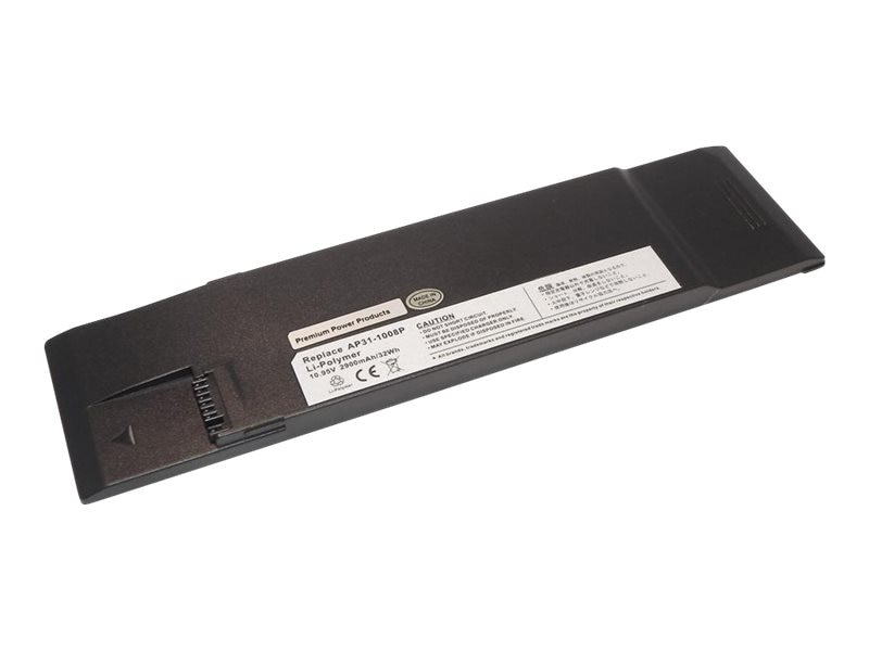 Ereplacements 3-Cell 2900mAh Battery for Asus eee PC, AP31-1008P-ER