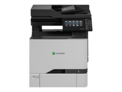 Lexmark CX725de Multifunction Color Laser Printer - HV w  CAC Enablement (TAA Compliant), 40CT015