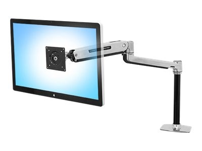 Ergotron LX Sit-Stand Desk Mount LCD Arm, 45-360-026, 16487925, Stands & Mounts - AV