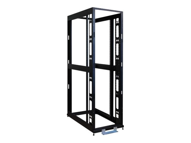 Tripp Lite 48U 4-Post SmartRack Premium Open Frame Rack w o Sides, Doors or Roof, SR48UBEXPNDNR3