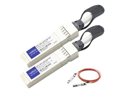 ACP-EP 10GBase Active Optical Modules SFP+ Cable, 1m, SFP-10G-AOC1M-AO, 16162047, Cables