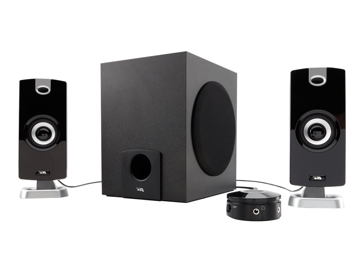 Lenovo Cyber Acoustics CA 3090 Game 2.1-Channel PC Multimedia Speaker System (26 Watt Total) - Black, 78000094, 17099182, Speakers - PC
