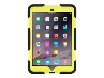 Griffin Survivor All-Terrain for iPad mini, mini 2, mini 3, Touch ID Compatible, Black Citron, GB35919-3, 17700628, Carrying Cases - Tablets & eReaders