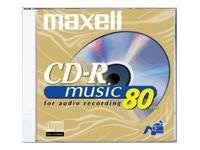 Maxell 80min. Digital Audio CD-R Disc, 625133, 9706616, CD Media