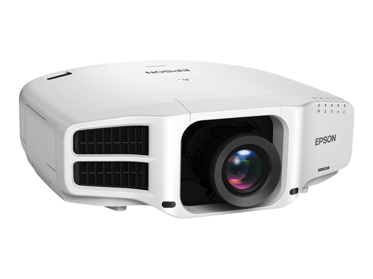 Epson Pro G7000W WXGA 3LCD Projector with Standard Lens, 6500 Lumens, White, V11H752020
